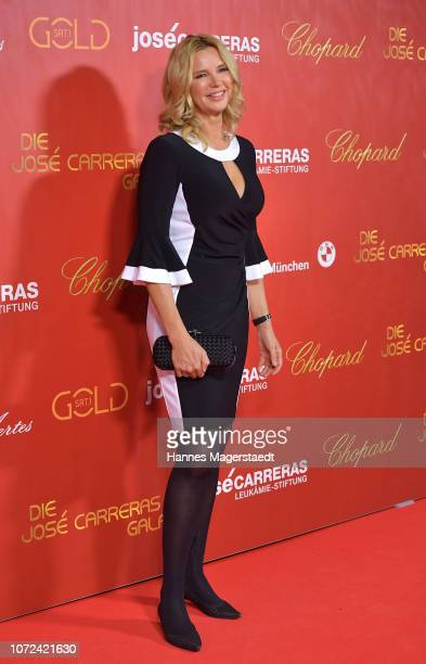 Veronica Ferres during the 24th Annual Jose Carreras Gala at Bavaria Studios on December 12 2018 in Munich Germany