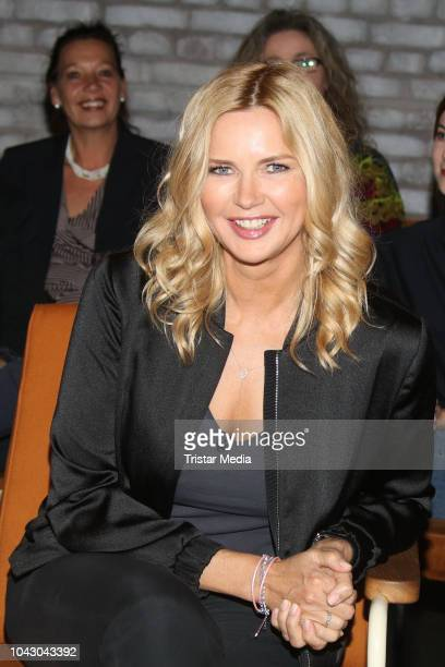 Veronica Ferres during the '3Nach9' talk show on September 28, 2018 in Bremen, Germany.