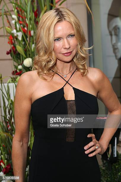 Veronica Ferres during the Mercedes-Benz reception at 'Klassik am Odeonsplatz' 2016 on July 17, 2016 in Munich, Germany.