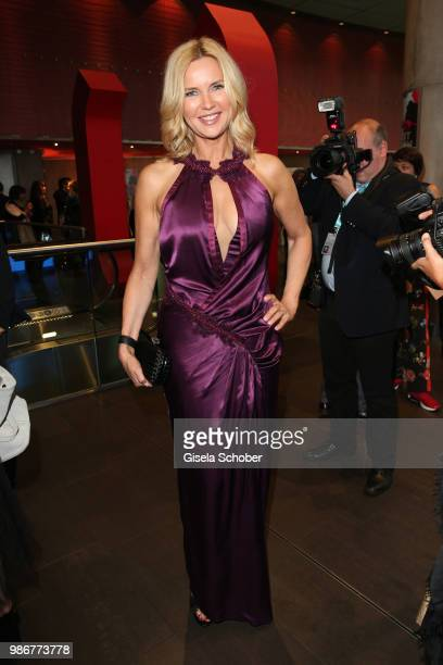 Veronica Ferres during the opening night of the Munich Film Festival 2018 at Mathaeser Filmpalast on June 28 2018 in Munich Germany