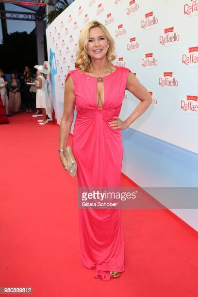 Veronica Ferres during the Raffaello Summer Day 2018 to celebrate the 28th anniversary of Raffaello on June 21 2018 in Berlin Germany