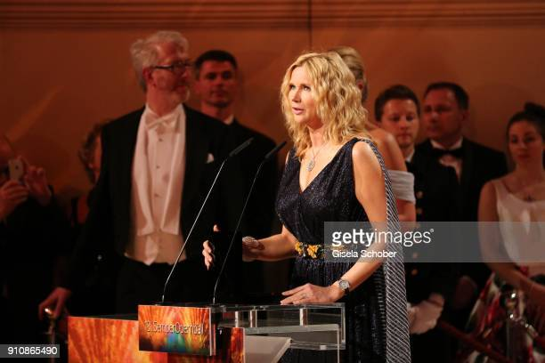 Veronica Ferres during the Semper Opera Ball 2018 at Semperoper on January 26 2018 in Dresden Germany
