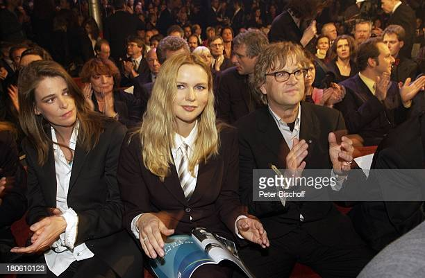 """Veronica Ferres , Ehemann Martin Krug , Verleihung """"Grimme Preis 2002"""", Marl, Mann, Klatschen,"""