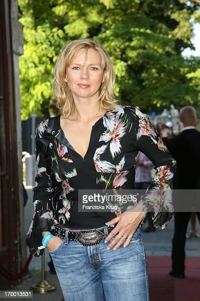 Veronica Ferres in At Home In Bavaria Munich Film Festival in Munich Bavaria Film Park