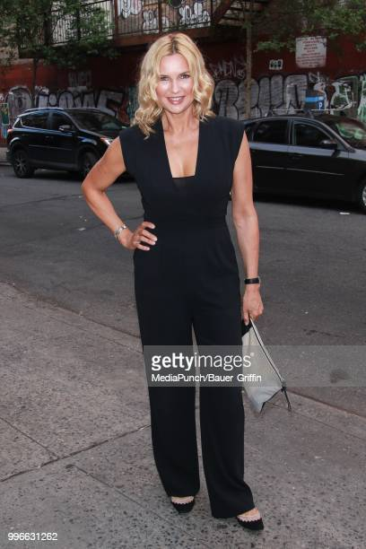 Veronica Ferres is seen on July 11 2018 in New York City