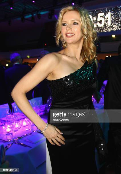 Veronica Ferres looks on during the 20011 Sports Gala 'Ball des Sports' at the RheinMain Hall on February 5 2011 in Wiesbaden Germany
