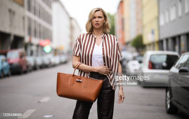 Veronica Ferres on May 13, 2020 in Munich, Germany.