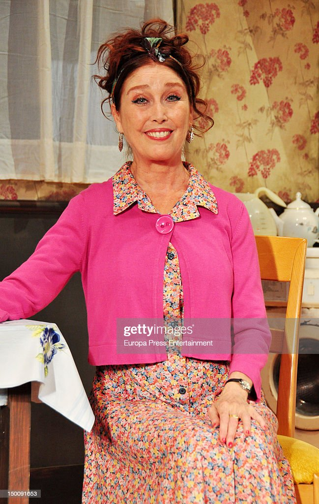 Veronica Forque Attends \'Shirley Valentine\' Photocallの写真および ...