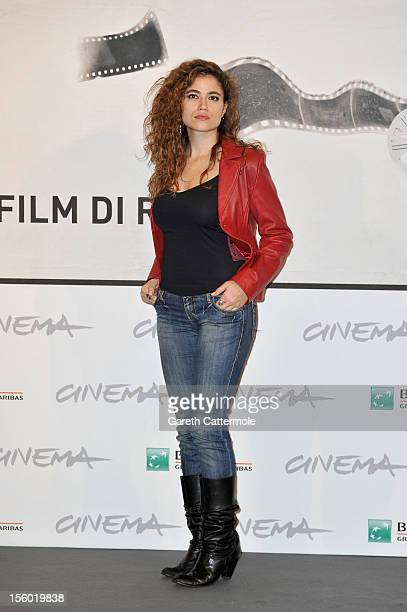 Veronica Gentili attends the 'L'Isola Dell'Angelo Caduto' Photocall during the 7th Rome Film Festival at the Auditorium Parco Della Musica on...