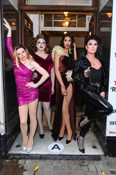 """GBR: """"Drag Queens Of Pop"""" At Vaudeville Theatre - Arrivals"""