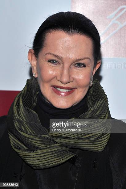 Veronica Hamel attends the 61st Annual New Dramatist's Benefit Luncheon at the Marriot Marquis on May 18 2010 in New York City