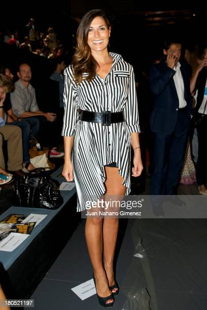 Veronica Hidalgo attends a fashion show during the Mercedes Benz Fashion Week Madrid Spring/Summer 2014 on September 14 2013 in Madrid Spain