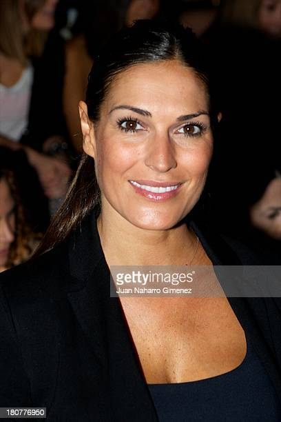 Veronica Hidalgo attends a fashion show during the Mercedes Benz Fashion Week Madrid Spring/Summer 2014 on September 16 2013 in Madrid Spain