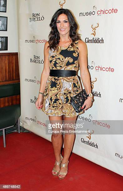 Veronica Hidalgo attends Chicote Museum Awards on September 23 2015 in Madrid Spain