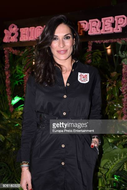 Veronica Hidalgo attends the 'Highly Preppy' fashion show at 'Puerta de America' hotel on March 1 2018 in Madrid Spain