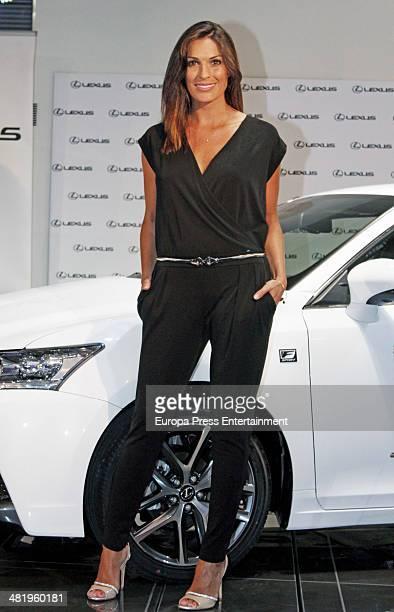 Veronica Hidalgo attends the presentation of Lexus CT 200h Hibrid on April 1 2014 in Madrid Spain