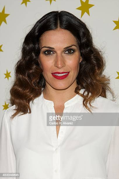 Veronica Hidalgo attends the 'Stars Charity' event at the Rabat Jewelry on December 3 2013 in Madrid Spain