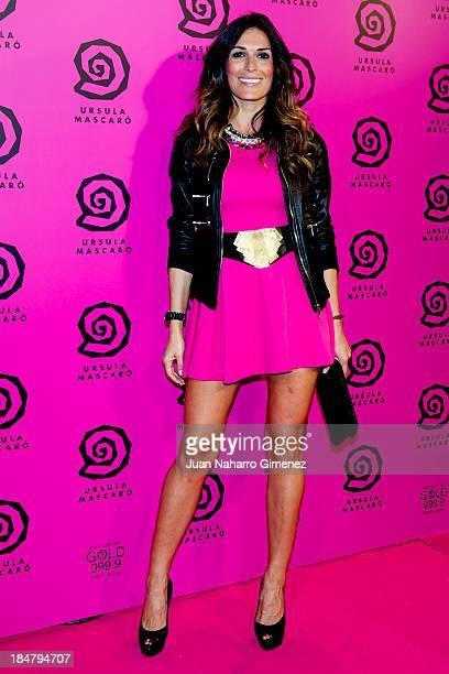 Veronica Hidalgo attends Ursula Mascaro opening store at Ursula Mascaro store on October 16 2013 in Madrid Spain