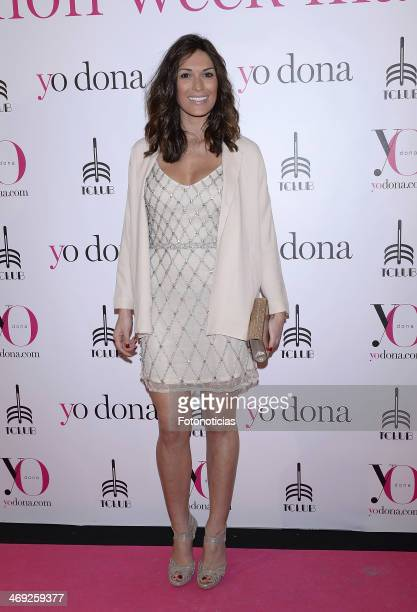 Veronica Hidalgo attends 'Yo Dona' magazine party at Barcelo theater on February 13 2014 in Madrid Spain