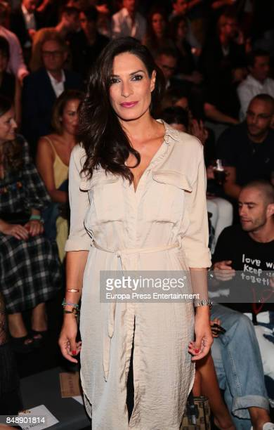 Veronica Hidalgo is seen during MercedesBenz Fashion Week Madrid Spring/Summer 2018 at Ifema on September 15 2017 in Madrid Spain