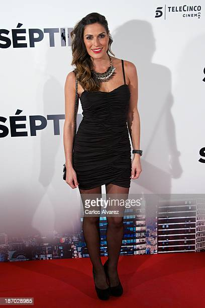 Veronica Hildalgo attends the 'Septimo' premiere at the Capitol cinema on November 5 2013 in Madrid Spain