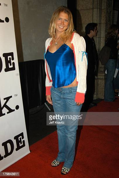 Veronica Kay during Mark/Avon Joins Forces with MTV's Series Made Arrivals and Party at Cinespace in Hollywood California United States