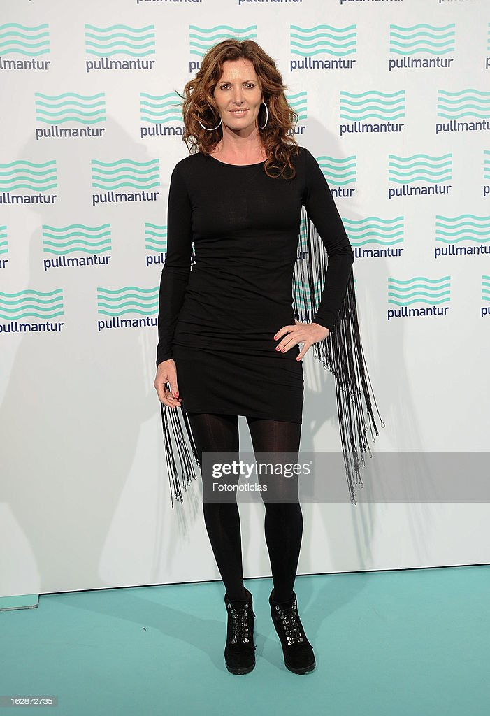 Veronica Mengod attends the Blue Night by Pullmantur at Neptuno Palace on February 28, 2013 in Madrid, Spain.