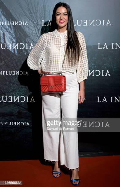 """Veronica Perona attends """"La Influencia"""" premiere at Palacio de la Prensa on June 17, 2019 in Madrid, Spain."""