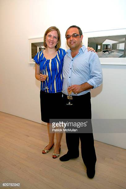 """Veronica Roberts and Harry Stendhal attend GENERATION OBAMA and HARRY STENDHAL host """"ART CRAWL for OBAMA"""" After Party at Maya Stendhal Gallery on..."""