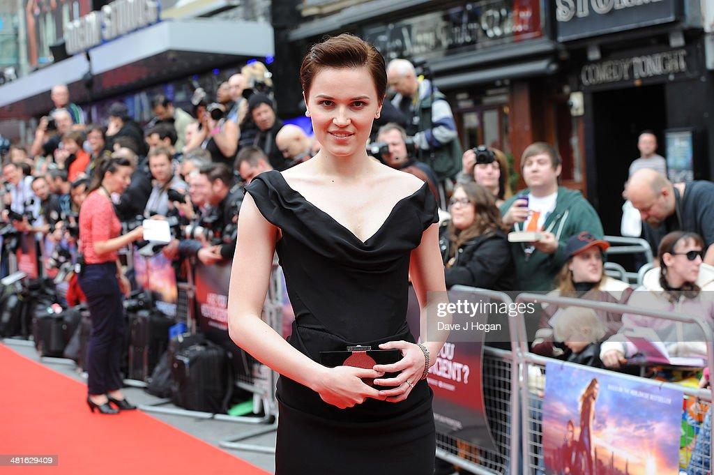 'Divergent' - European Premiere - Inside Arrivals : News Photo