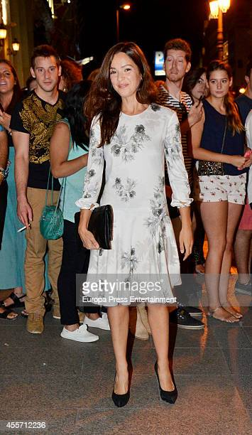 Veronica Sanchez attends FIBA Private Party on September 14 2014 in Madrid Spain