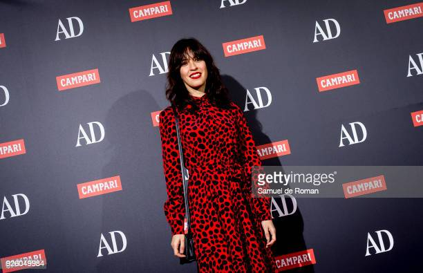 Veronica Sanchez attends the 'AD Awards' 2018 photocall on March 1 2018 in Madrid Spain