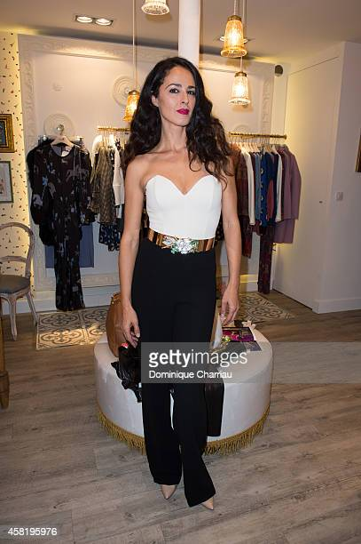 Veronica Sanchez attends the 'Dolores Promesas' Opening Store in Paris on October 31 2014 in Paris France