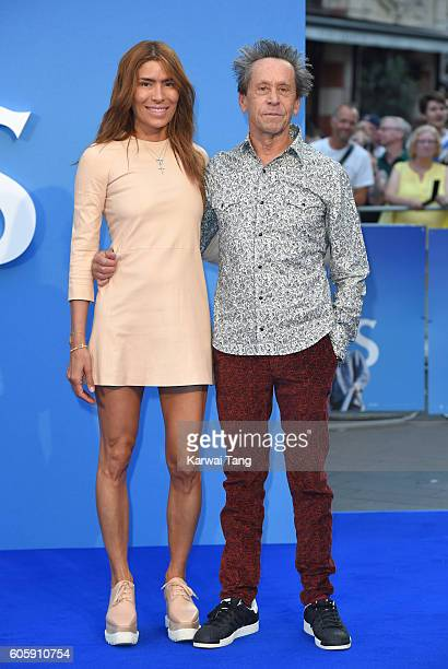 Veronica Smiley and Brian Grazer arrive for the World premiere of 'The Beatles Eight Days A Week The Touring Years' at Odeon Leicester Square on...