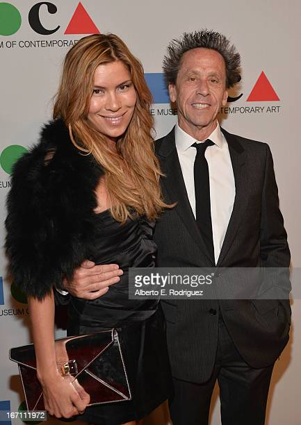 "Veronica Smiley and producer Brian Grazer attend ""Yesssss"" MOCA Gala 2013 Celebrating the Opening of the Exhibition Urs Fischer at MOCA Grand Avenue..."