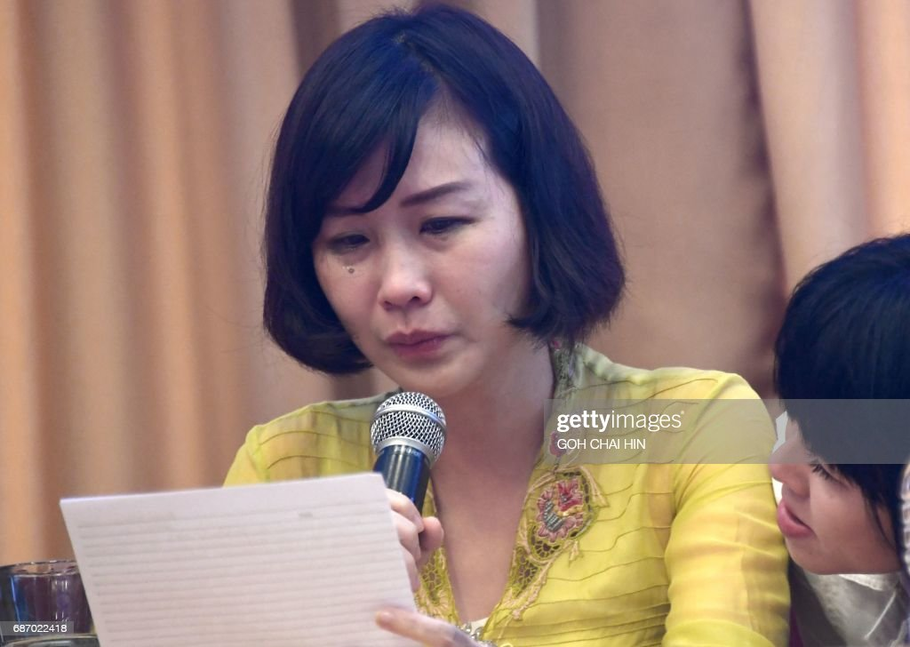Veronica tan the wife of jakarta governor basuki tjahaja purnama veronica tan the wife of jakarta governor basuki tjahaja purnama known as ahok gets support from ahoks sister fify letty indra r as she reads a stopboris Choice Image