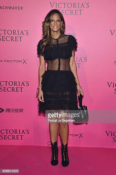 Veronica Web attends the 2016 Victoria's Secret Fashion Show after party on November 30 2016 in Paris France