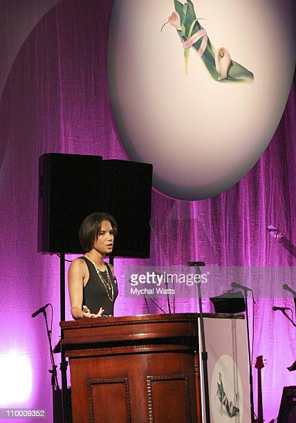 Veronica Webb Hosts the 14th Annual QVC Presents FFANY Shoes on Sale Benefitting Breast Cancer Research on October 17, 2007 in New York.