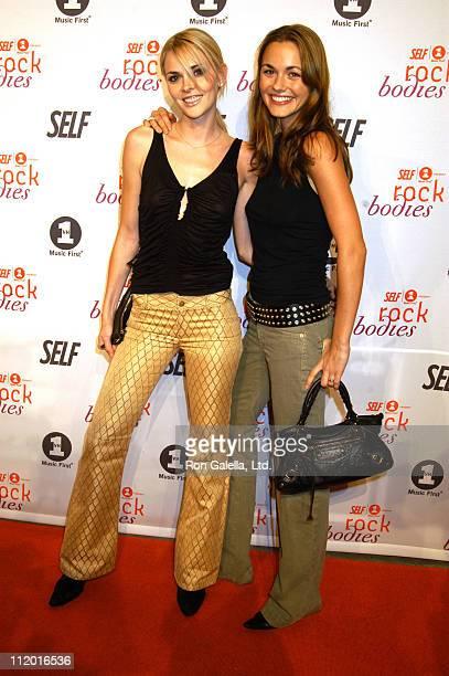 Veronika Haydon Vanessa Haydon during Premiere Party for Rock Bodies Presented by VH1 and Self Magazine at Splashlight Studios in New York City New...