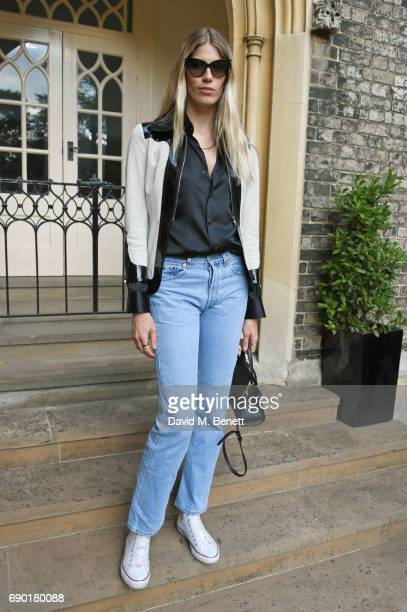Veronika Heilbrunner attends the ALEXACHUNG London Launch Summer 17 Collection Reveal at the Danish Church of Saint Katharine on May 30 2017 in...