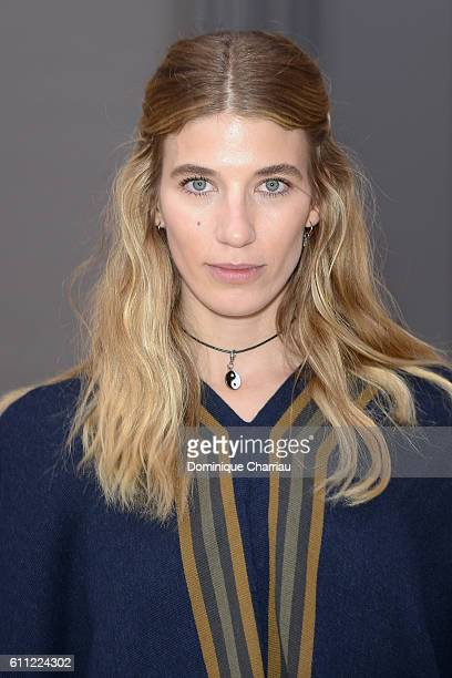 Veronika Heilbrunner attends the Chloe show as part of the Paris Fashion Week Womenswear Spring/Summer 2017 on September 29 2016 in Paris France