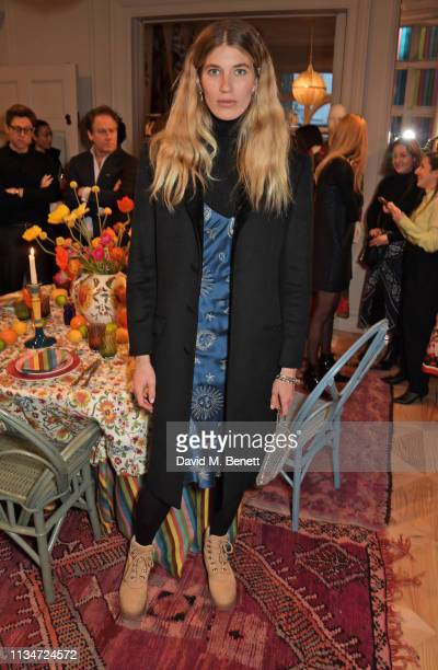 Veronika Heilbrunner attends the MATCHESFASHION.COM x Cabana launch event at 5 Carlos Place on April 3, 2019 in London, England.