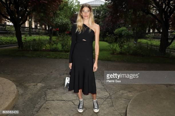 Veronika Heilbrunner attends the Proenza Schouler Haute Couture Fall/Winter 20172018 show as part of Haute Couture Paris Fashion Week on July 2 2017...