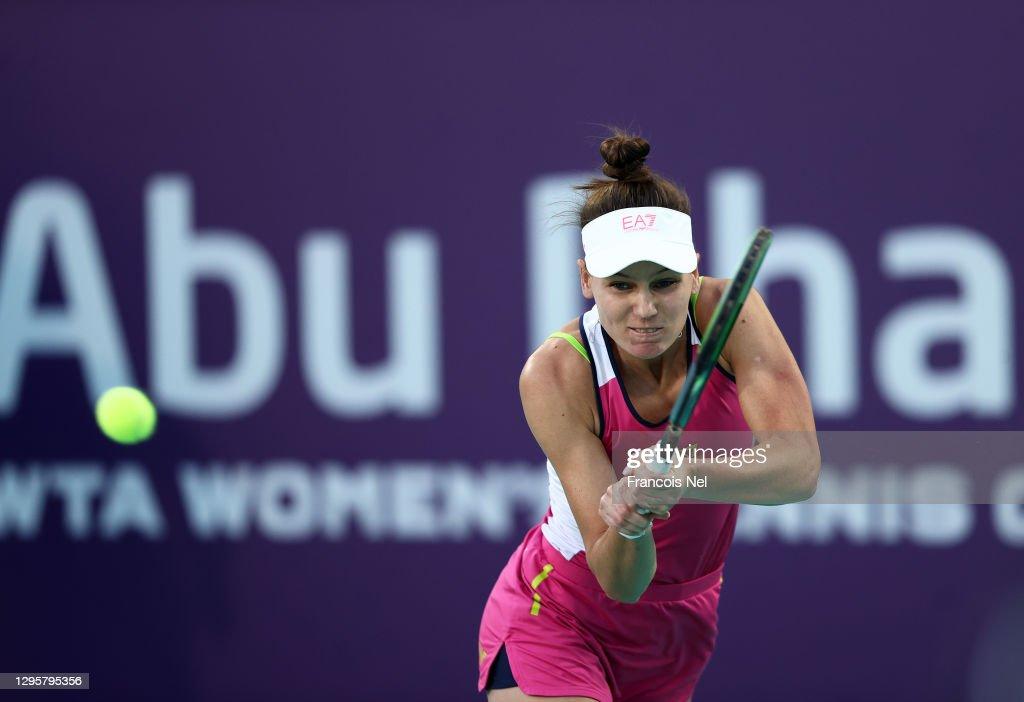 Abu Dhabi WTA Women's Tennis Open - Day Six : News Photo