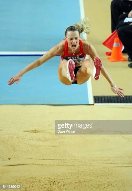 Veronika SHUTKOVA Saut en Longueur Championnats de Monde d'Athletisme en Salle Atakoy Athletics Arena Istanbul Photo Dave Winter / Icon Sport