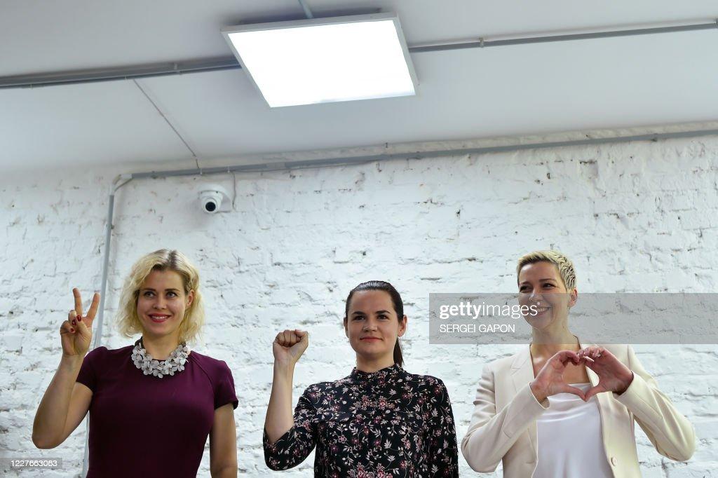 BELARUS-POLITICS-VOTE : News Photo
