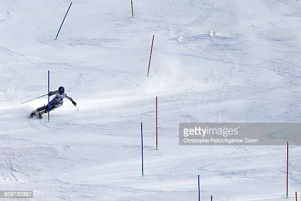 Veronika Velez Zuzulova of Slovakia in action during the Audi FIS Alpine Ski World Cup Women's Slalom on December 11 2016 in Sestriere Italy