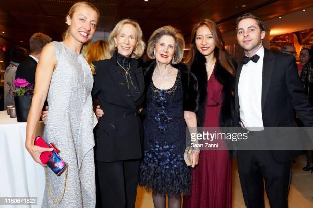 Veronique Ansorge Linda Silverman Sandra Warshawsky Sabrina Hahn and Alexander Berggruen attend 2019 AFA Gala Cultural Leadership Awards at...