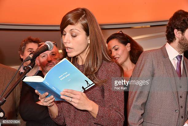 Veronique Cardi attends 'Le Prix Du Style 2016' Literary awards at BMW Brand Store GeorgesV on November 22 2016 in Paris France