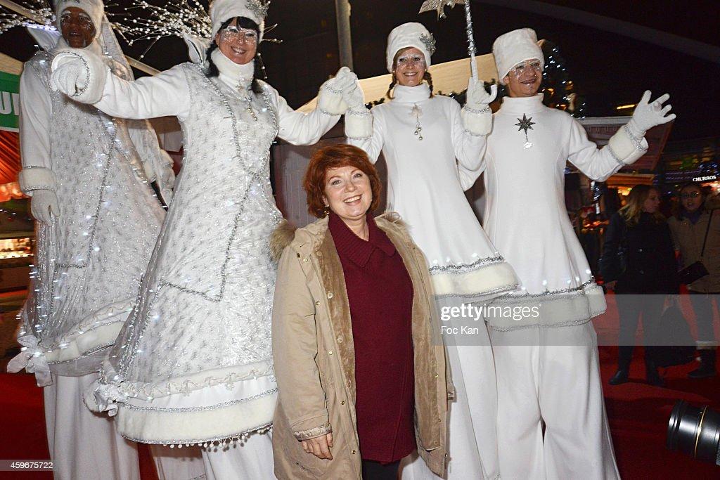 'Marche De Noel' : Launch At Parvis De La Defence : News Photo